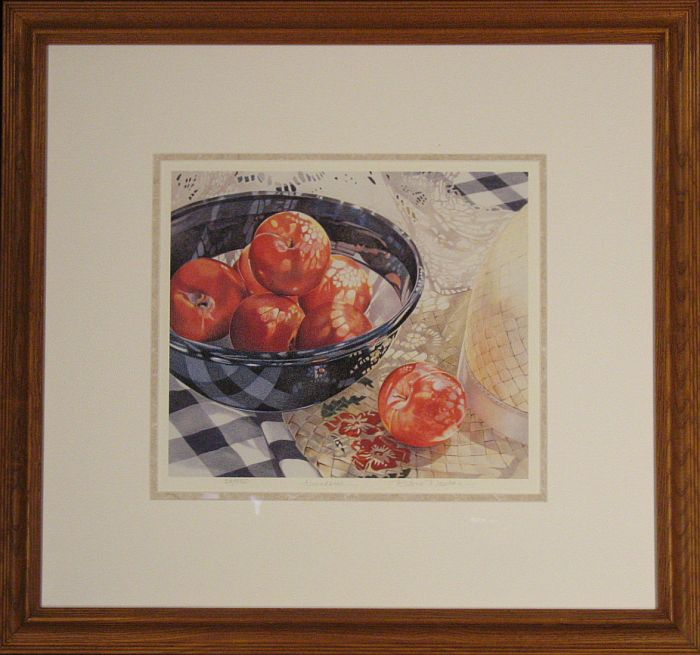 Barbara Benedetti Newton limited edition colored pencil still life: Abundance