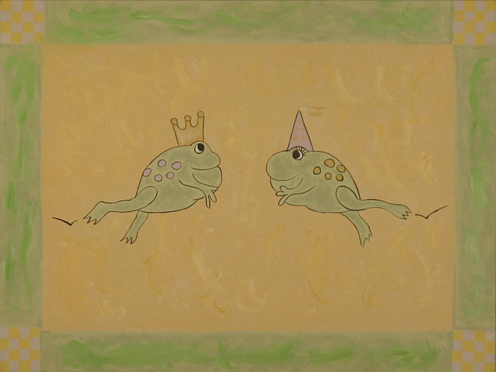 King and Queen Frogs