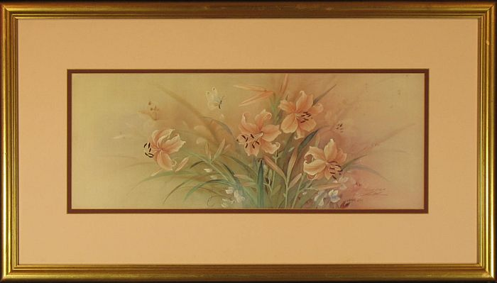 """Limited Edition Pencil Signed Print: """"Day Lily"""""""