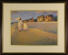"Limited Edition Lithograph:""Last Day of Summer"""