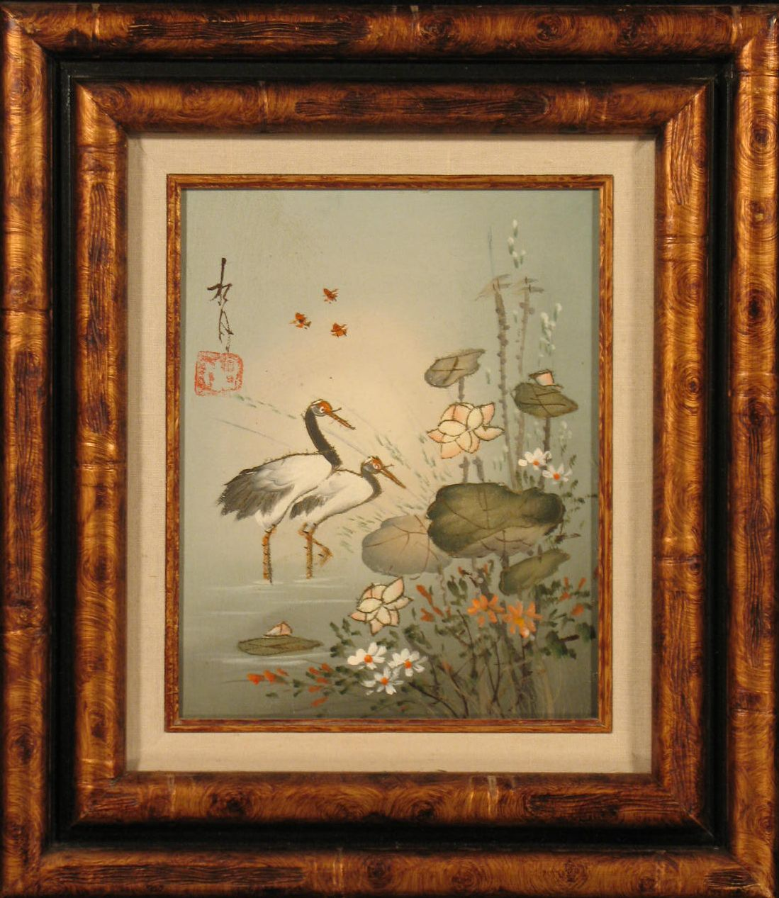 Original Painting: Wading Birds