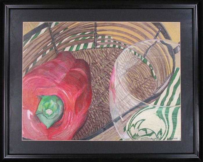 E. Auxier Original Still Life: Red Pepper