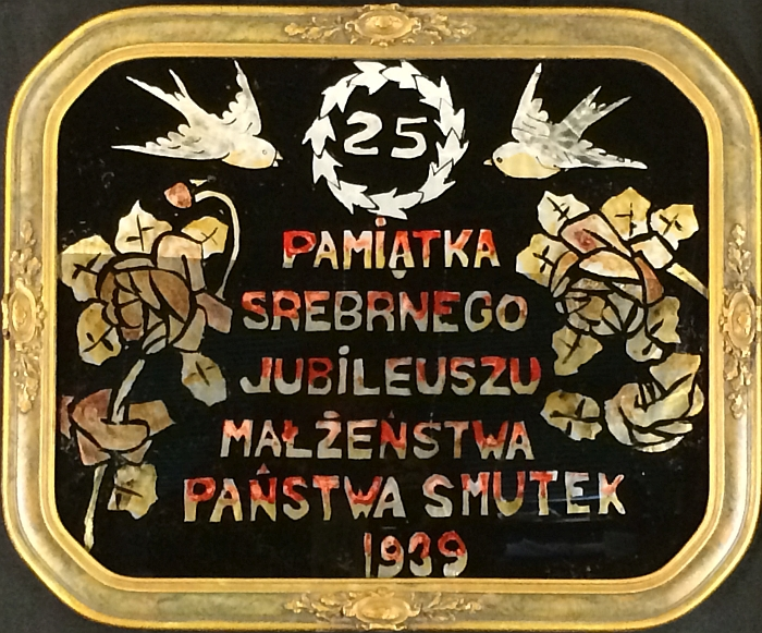 Silver Jubilee Souvenir of the Marriage of Mr. & Mrs. Smutek 1939